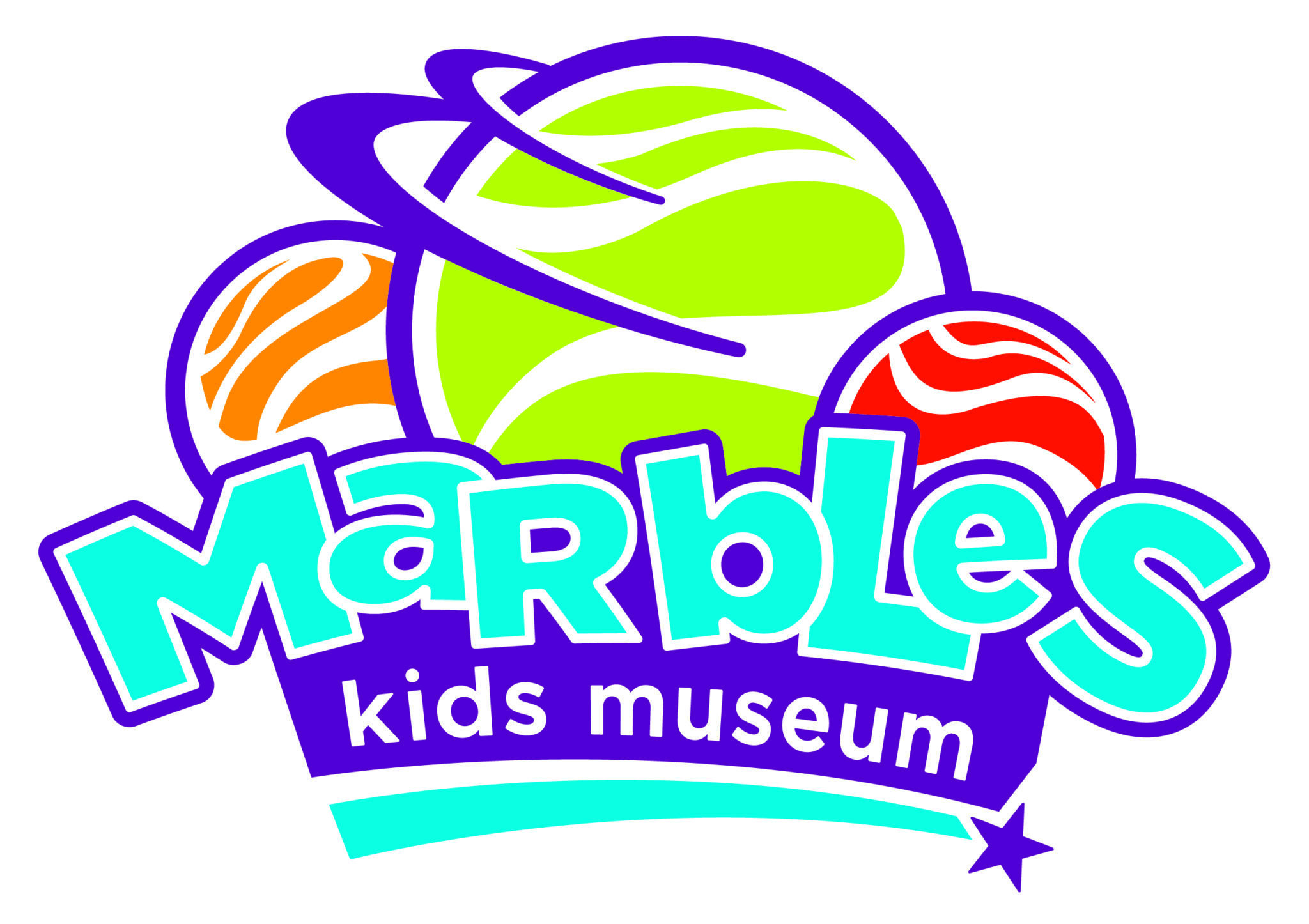 Logo for Marbles Kids Museum