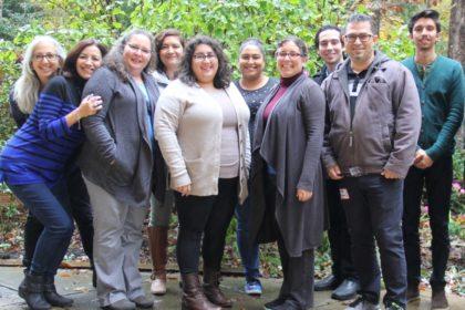 Group picture of staff at El Pueblo