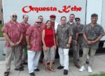 Picture of the entire group, Orquesta K'Che
